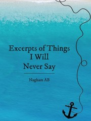 Excerpts of Things I Will Never Say